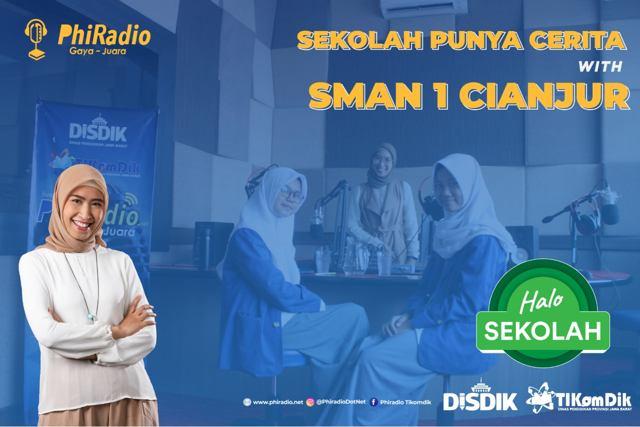 Talkshow With SMA Negeri 1 Cianjur