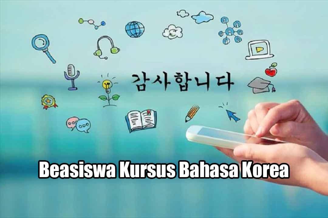 Beasiswa Kursus Bahasa Korea