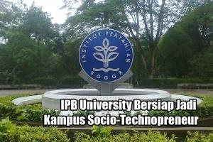 IPB University Bersiap Jadi Kampus Socio-Technopreneur