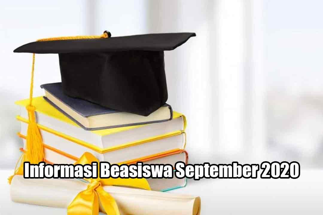 Informasi Beasiswa September 2020