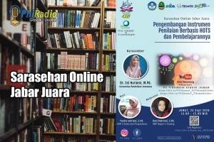 Sarasehan Online Jabar Juara