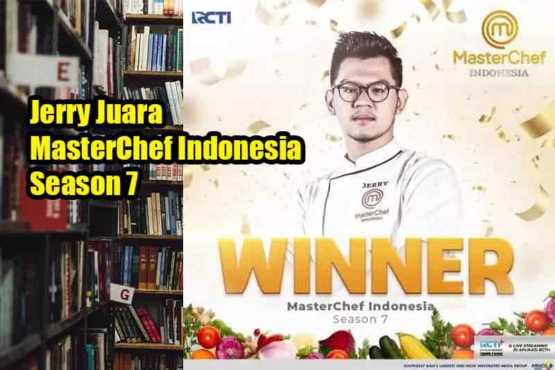 Jerry Juara MasterChef Indonesia Season 7