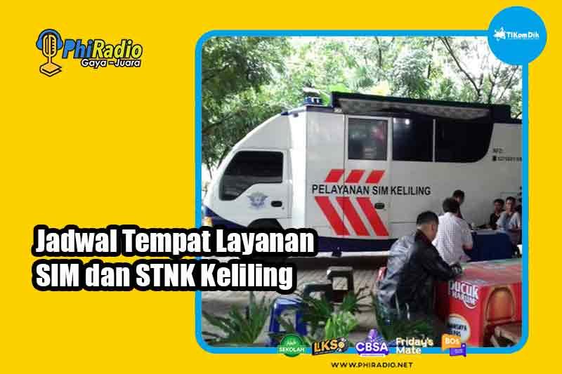 Jadwal SIM Keliling Bandung Hari Ini Kamis 15 April 2021