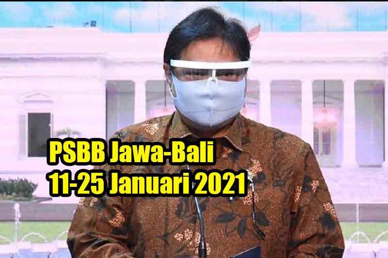 PSBB Jawa-Bali 11-25 Januari 2021