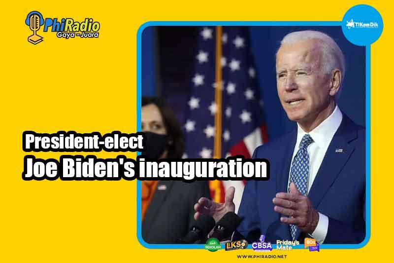 President-elect Joe Biden's inauguration