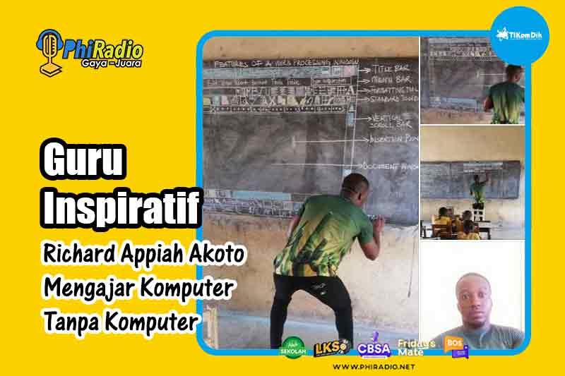 Richard-Appiah-Akoto-Mengajar-Komputer-Tanpa-Komputer