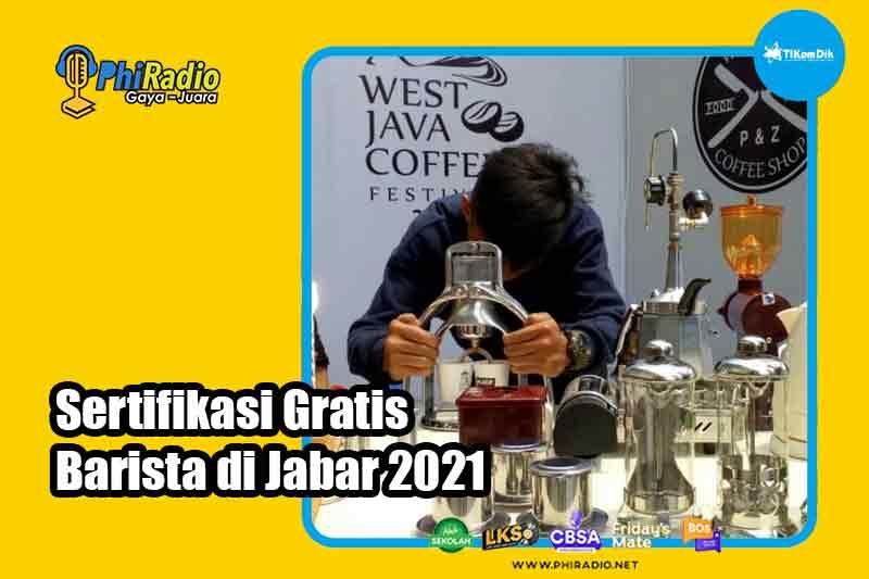 Sertifikasi-Gratis-Barista-di-Jabar-2021