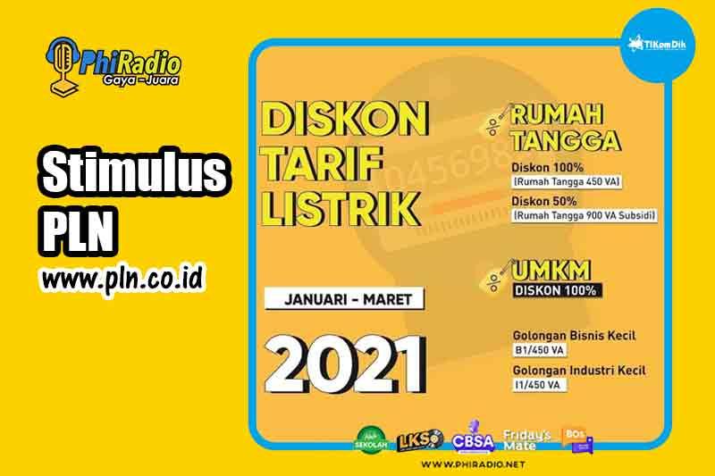 Token Listrik Gratis PLN Februari 2021