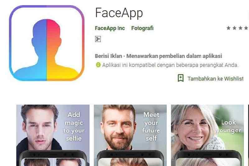 FaceApp Viral Lagi, Perhatikan Dulu Hal Ini Sebelum Mengunduhnya