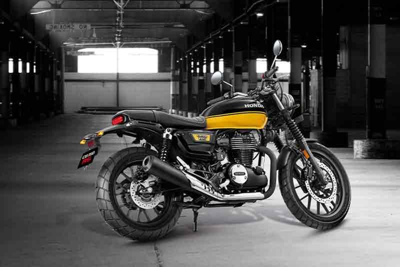 Motor Honda CB350 RS Rilis