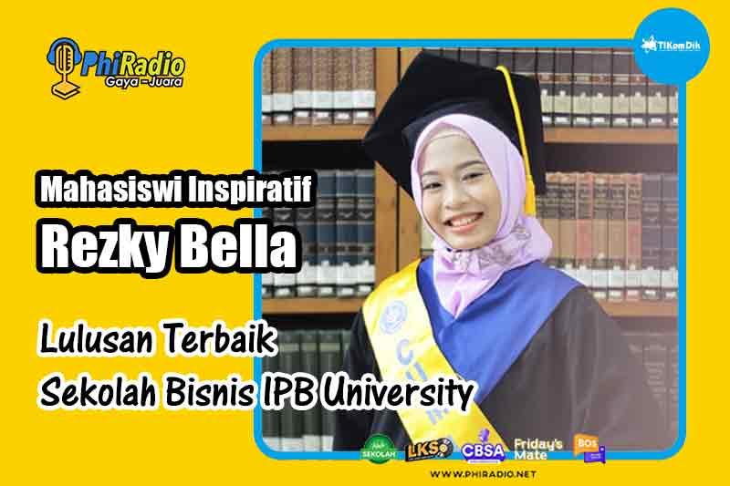 Mahasiswi Inspiratif Rezky Bella Lulusan Terbaik Sekolah Bisnis IPB University