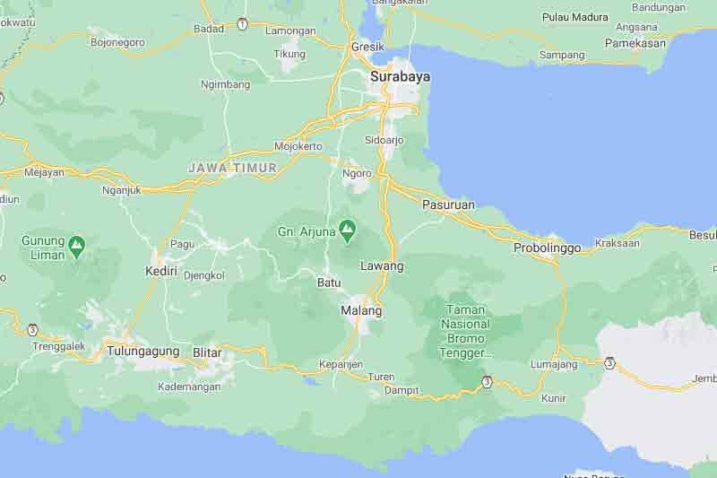 Suara Dentuman di Malang 3 Februari 2021