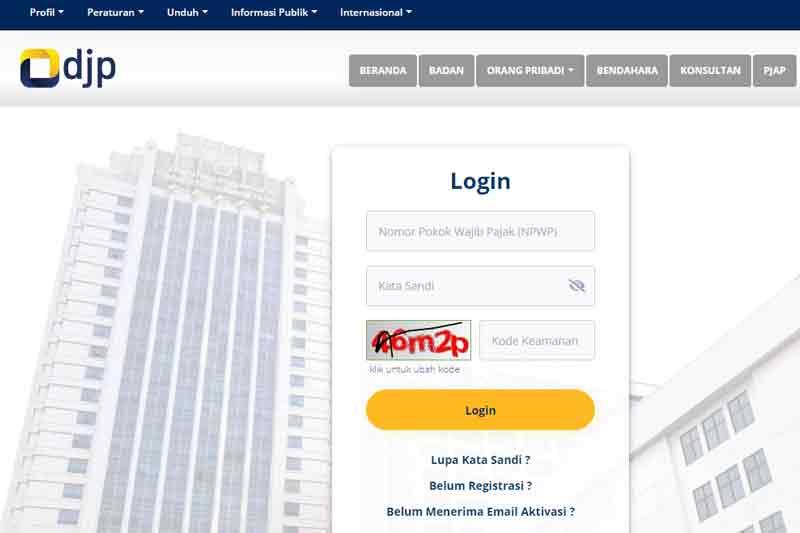 Cara Lapor SPT Tahunan PPh Secara Online Akses djponline.pajak.go.id