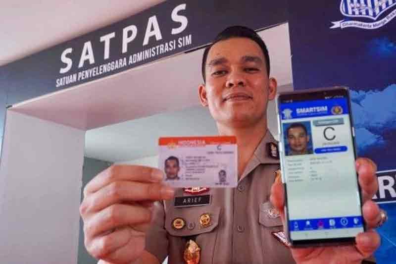 Aplikasi SINAR (SIM Nasional Presisi), Aplikasi Perpanjangan Bikin SIM Lewat HP