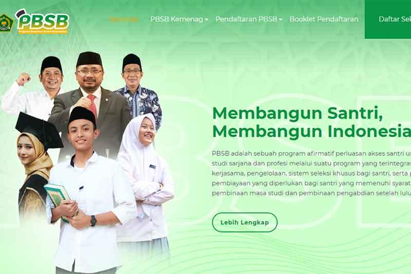 Beasiswa Santri Berprestasi, Info Pendaftaran PBSB 2021 – 2022