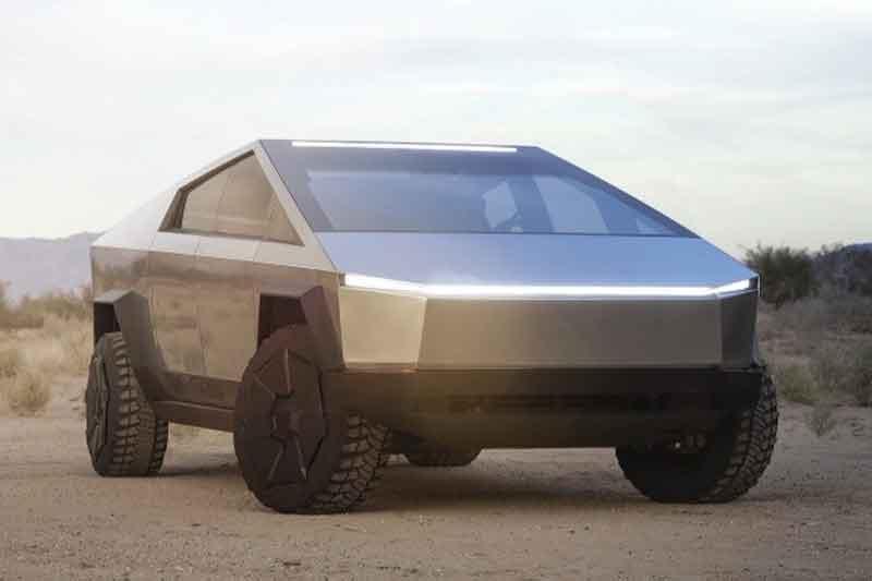 Mobil Listrik Antipeluru Tesla Cybertruck di IIMS Hybrid 2021