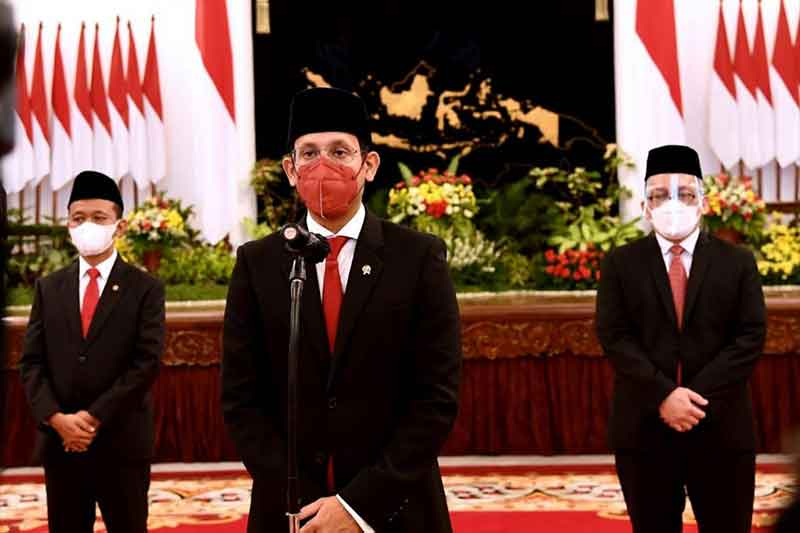 Nadiem Anwar Makarim Di Lantik Sebagai Mendikbudristek – Menteri Pendidikan, Kebudayaan, Riset, dan Teknologi