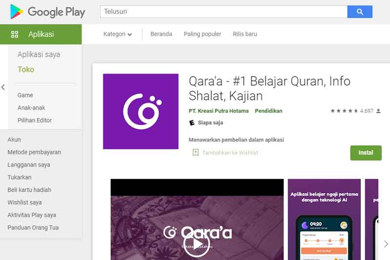 Wow Anak Muda Pontianak Bikin Aplikasi Belajar Al-Qur'an Pakai Teknologi Kecerdasan Buatan