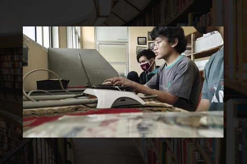 Adhitya Siswa SMKN 1 Majalengka Jadi Mentor 3000 Programmer