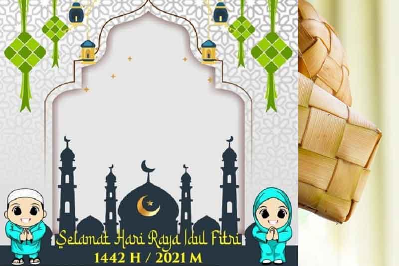 Download Twibbon Idul Fitri 1442 Hijriah
