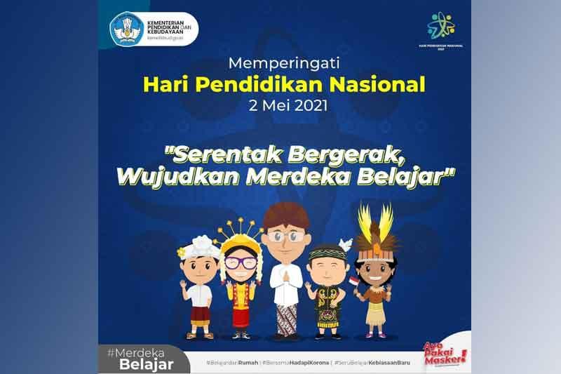 Hari Pendidikan Nasional 2 Mei 2021