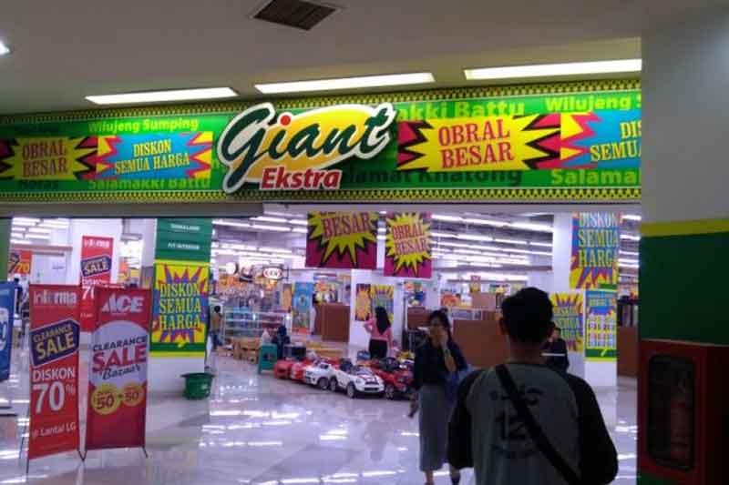 Sejarah Giant, Supermarket Raksasa Akan Tutup Juli 2021