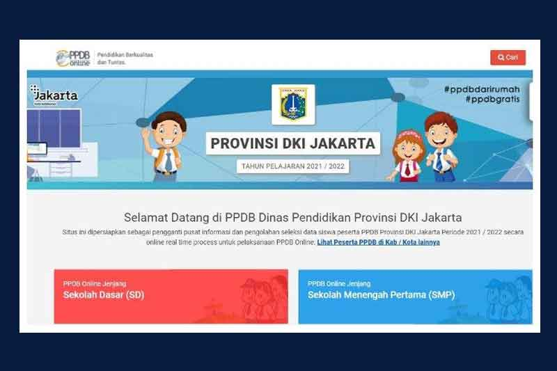 Info Cara Pendaftaran PPDB DKI Jakarta 2021 Jalur Zonasi, Afirmasi, dan Prestasi