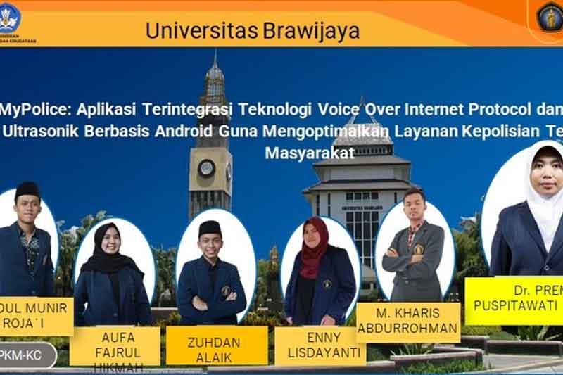 Aplikasi untuk Pantau Kecelakaan Rancangan Mahasiswa Universitas Brawijaya Malang