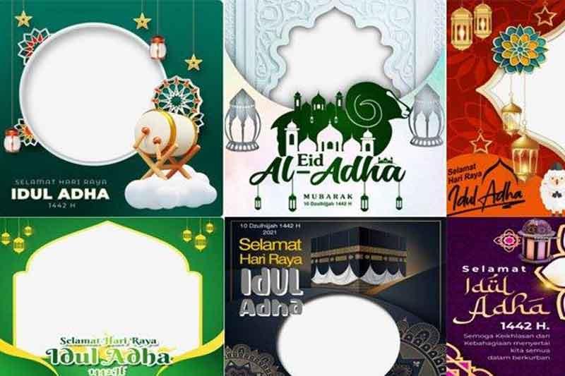 Link Foto Hari Raya Idul Adha 2021 Gratis di Twibbonize Online