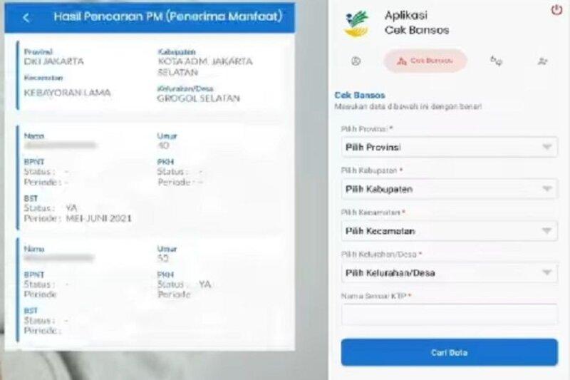 Cek Penerima Bansos PKH September 2021, Aplikasi Cek Bansos Kemensos dan cekbansos.kemensos.go.id